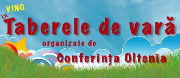 Tabere de vara - Conferina Oltenia