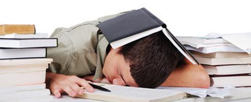 Student-sleeping
